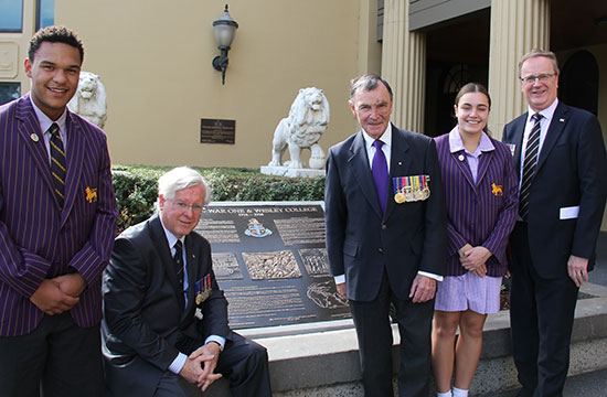World War One interpretative plaques unveiled