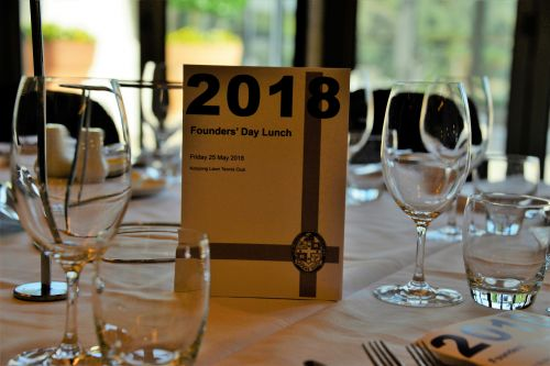 Founders' Day Lunch 2018